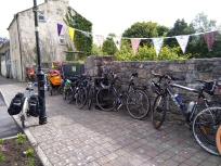 Bunting and bikes, what more could a festival need!