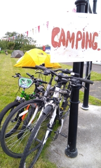 Camping in Drumsna, good times!