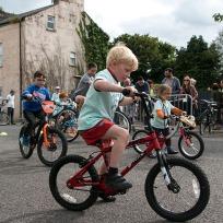 Slow Bike Race!