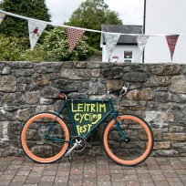 Leitrim Cycling Festival Sign.